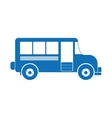 vintage bus icon image vector image