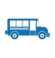 vintage bus icon image vector image vector image