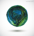 Watercolor Earth vector image