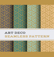 art deco seamless pattern 24 vector image vector image