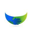 business people handshake agreement icon vector image