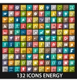 Energy and resource icon set vector image vector image