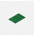 isolated rugby isometric american football vector image vector image