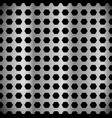 metal sheet surface pattern perforated punched vector image