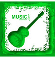 musical light background vector image vector image