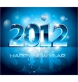 new years eve background vector image vector image
