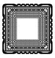 Square Frame Isolated vector image vector image