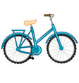 transport facility bicycle vector image vector image
