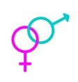Gender sign 609 vector image