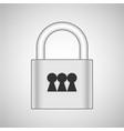 lock 3x vector image