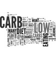 a low carb diet worked for me text word cloud vector image vector image
