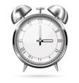 alarm clock retro style vector image vector image
