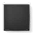 Black notebook vector image vector image