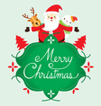 Christmas Banner And Decoration vector image vector image