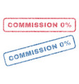 commission 0 percent textile stamps