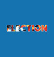 election concept word art vector image