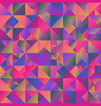 minimal dynamic geometric gradient mosaic vector image vector image