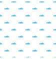 small sea wave icon simple style vector image vector image