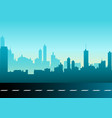 a cityscape vector image vector image