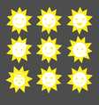 Cute Sun vector image