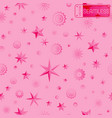 glamour pink seamless texture background with vector image vector image