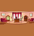 interior oval office in white house daytime vector image