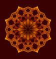 mandala a vector image vector image