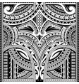 polynesian ornament suitable for sleeve tattoo vector image vector image