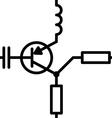 seamless electronic scheme vector image