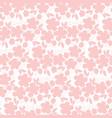tender pastel rosy sakura flowers seamless pattern vector image vector image