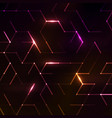 abstract polygonal space vector image