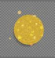 big shiny circle vector image vector image