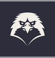 eagle mascot icon vector image