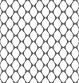 Geometric monochrome simple seamless pattern vector image vector image
