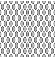 Oval geometric seamless pattern 7209 vector image vector image