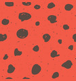 seamless pattern design with sketchy dots and vector image