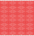 tile red and white pattern or background vector image vector image