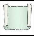 sheet of parchment paper with aquamarine wavy vector image