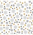 christmas pattern seamless vector image