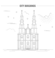 City buildings graphic template Belarus