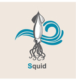 image of squid vector image