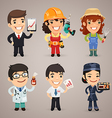 professions set1 1 vector image vector image