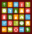 travel icons 3 38 vector image vector image