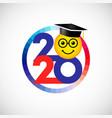 2020 round emoji vector image vector image