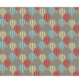 Air balloon abstract pattern vector image