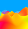 bright abstract colorful background vector image vector image