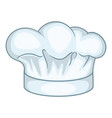 cook hat icon cartoon style vector image vector image