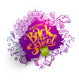 back to school sale splash backdrop vector image vector image