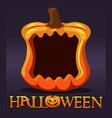 halloween pumpkin frame avatar blank template