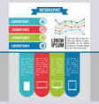 infographic various diagrams vector image vector image